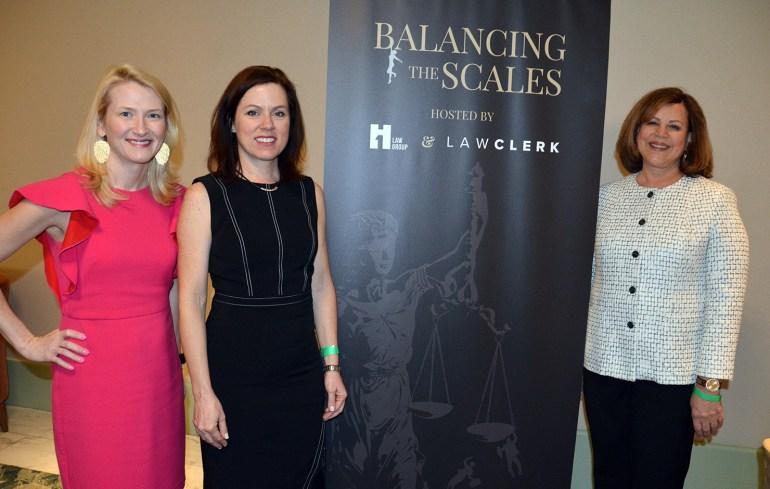 Panelists Kristin Tyler, Katrina Hone and Sharon Rowen