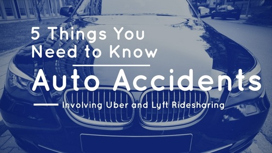 Rideshare Accidents Involving Uber and Lyft