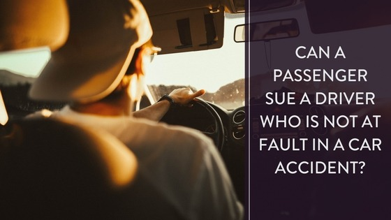 Can a Passenger Sue if Driver not at Fault?