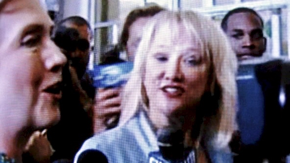 Christina interviews Sen. Hillary Clinton (D-NY) 2008