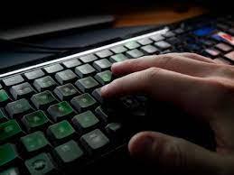 Fingers on Keyboard