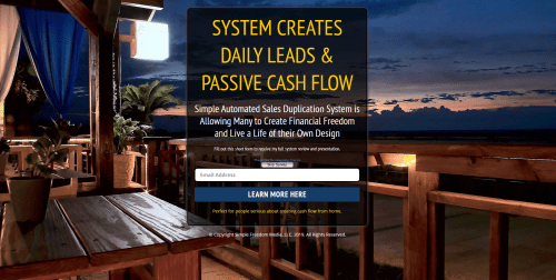 Power Lead System Funnel Simple Freedom Club Cash System