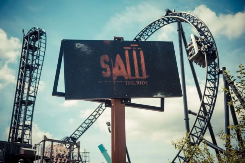 Saw - The Ride - Thorpe Park