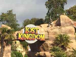 Paultons Park - Lost Kingdom Sign