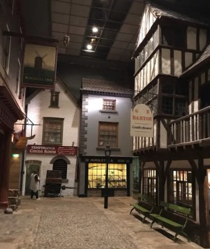 York Castle Museum - Kirkgate Victorian Street Traditional Shops