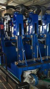 Shockwave - Drayton Manor - Stand-up Roller Coaster Restraints