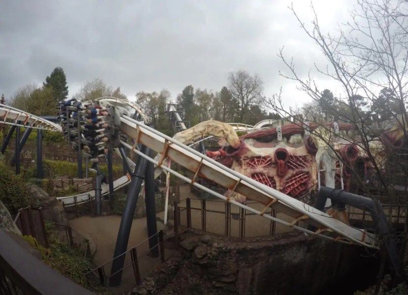 Alton Towers - Nemesis Monster
