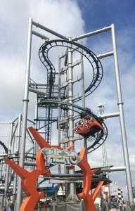 Hero - Flamingo Land Resort - Spiral Lift Hill