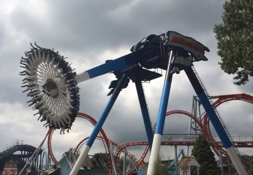 Drayton Manor Theme Park - Maelstrom