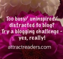 blogging challenge for women bloggers