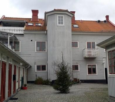 Gårdsfasad Karlshamn 2014