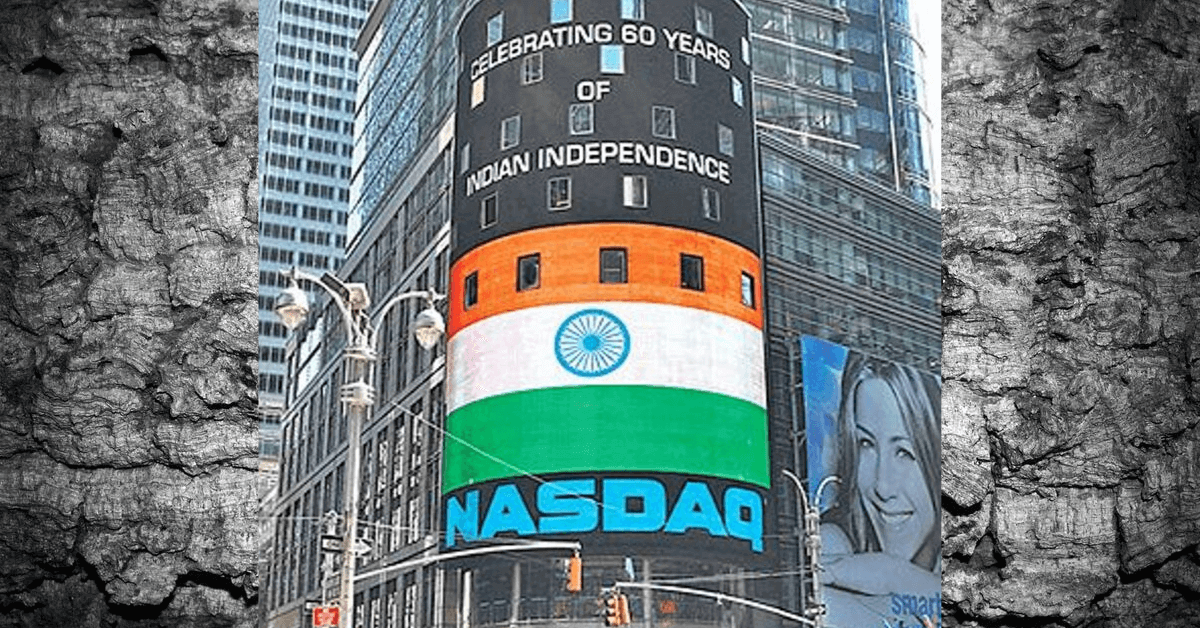 Indians trade on NASDAQ