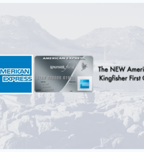 American Express Kingfisher First Credit Card