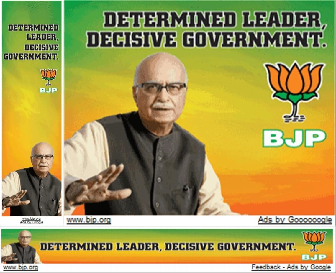 LK Advani Google Adwords