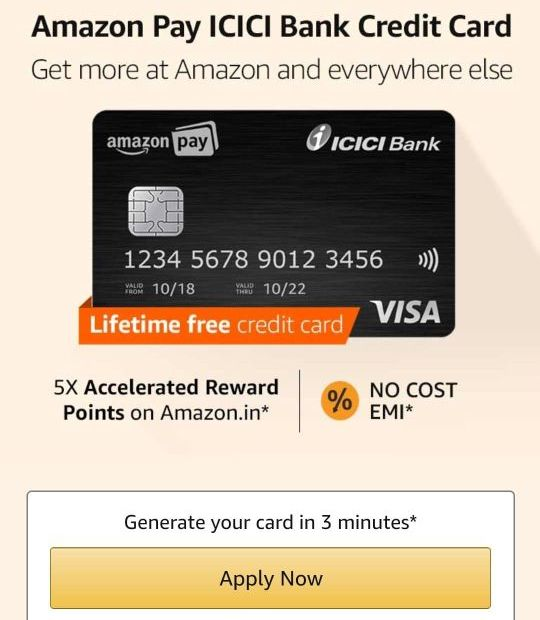 Amazon Pay ICICI Bank Credit Card Invite