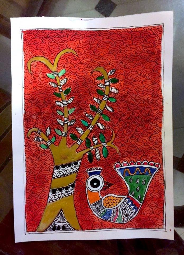 mathila painting artwork