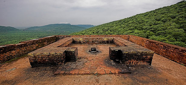 ruins of ancient rajgir