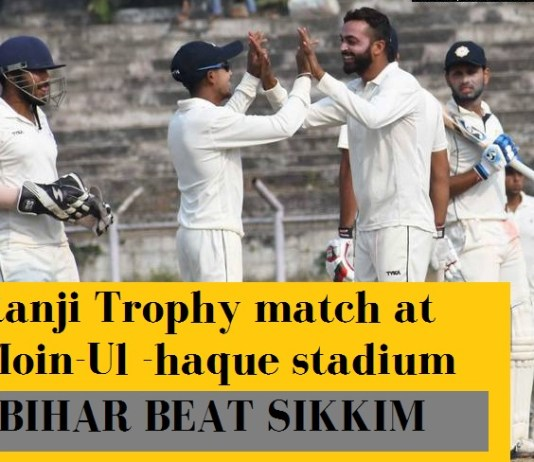 Bihar, playing Ranji for the first time since returning from eighteen years of cricket exile, won on their own home ground