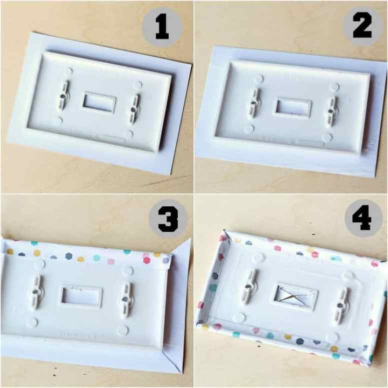 tween bedroom light switch cover tutorial