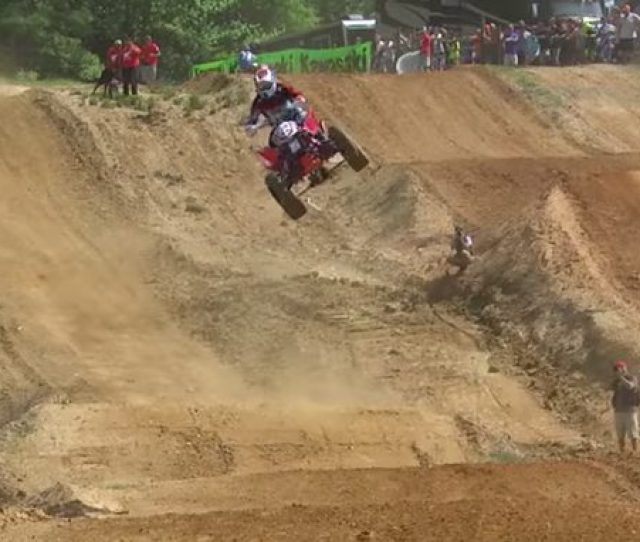 Big Jumps And Tricky Lines Make For An Epic Race Course
