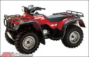 Looking Back: 1995 Honda Foreman 400 ATV
