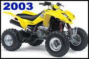 2003 SUZUKI LT-Z400 quad deportivo ATV