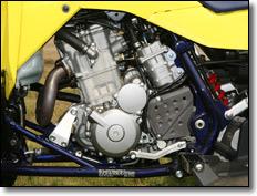 2009 Motor Suzuki LT-Z400 quad deportivo ATV