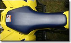 2009 asiento en forma de T-Suzuki LT-Z400 quad deportivo ATV