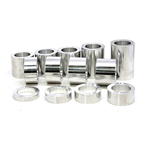 """6061 Aluminum 3//4/"""" Harley Axle Spacer USA MADE Custom Length to your specs"""