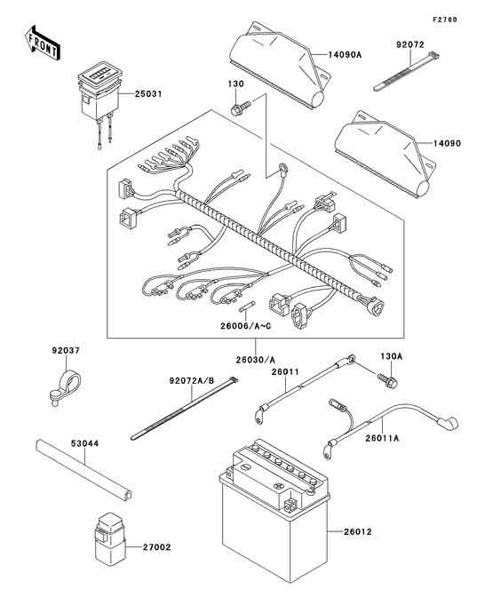 Kawasaki Mule 620 Wiring Schematic