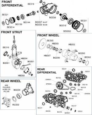 Polaris Sportsman Parts Diagram