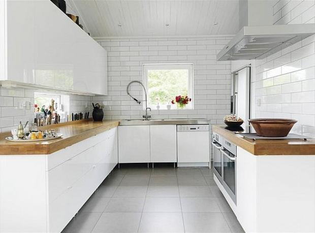 Carrelage Sol Pour Cuisine Blanche Atwebster Fr Maison Et Mobilier