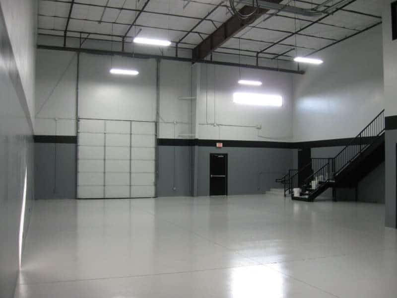 commercial epoxy for warehouses
