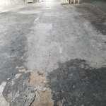 Concrete resurfacing before photo