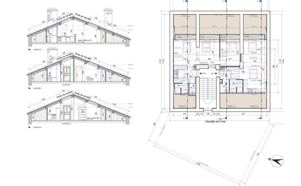 Immeuble G plan