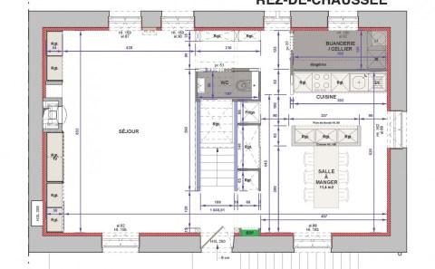 Villa A plan