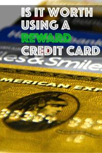 Is it Worth Using a Rewards Credit Card Pinterest