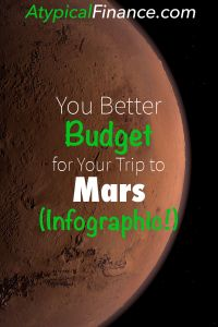 You Better Budget for Your Trip to Mars Pinterest