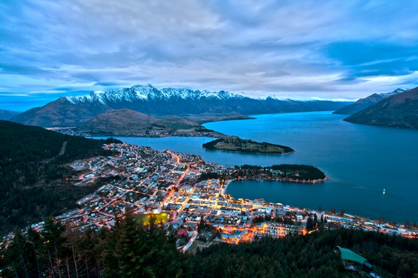 Ciutat de Queenstown / Lawrence Murray CC