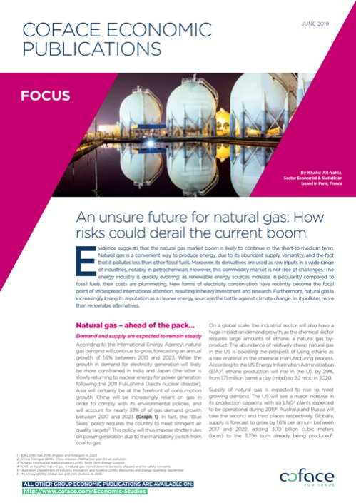 An unsure future for natural gas: How risks could derail the current boom