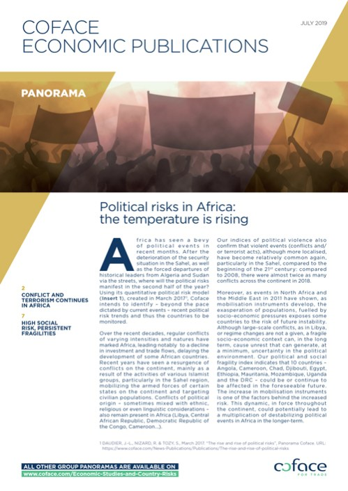 Political risks in Africa: the temperature is rising