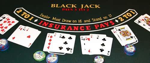 ブラックジャックでは伏せカードの把握が重要