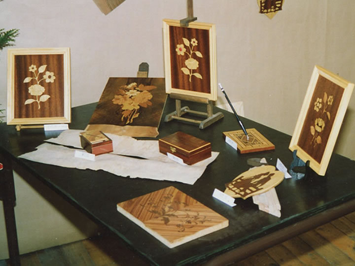 Marqueterie-Objets