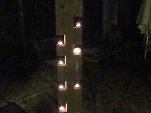 Lampe «Bougies Zen»