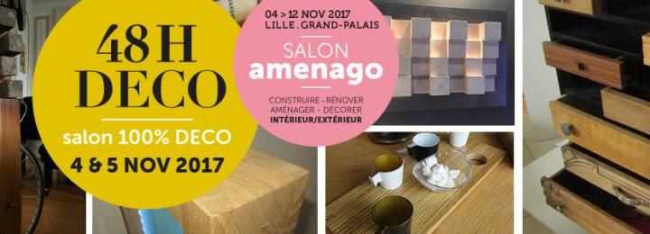 Salon amenago – 48h Déco les 4 et 5 nov. 2017