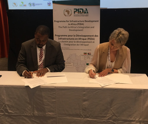 NEPAD Agency signs Aide-memoire with Sustainable Infrastructure Foundation