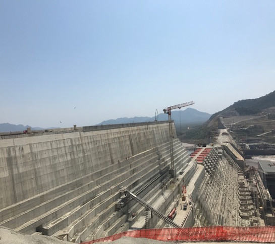 Journalists Visit the Grand Ethiopian Renaissance Dam, Courtesy of the AUC