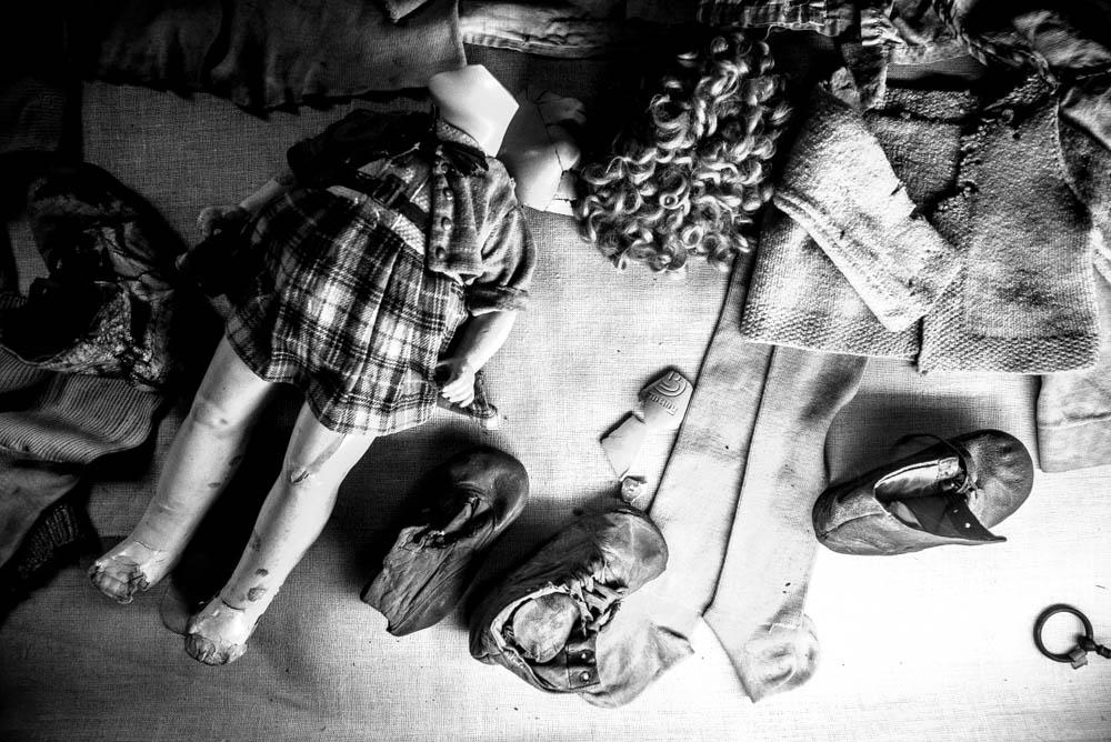 visite Auschwitz-Birkenau - Jouets cassés récupérés à Birkenau