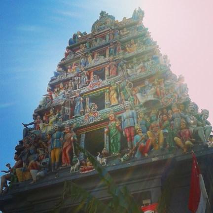Le temple hindou Sri Mariamman