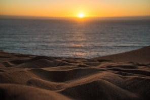 Coucher de soleil sur Las Dunas de ConCon